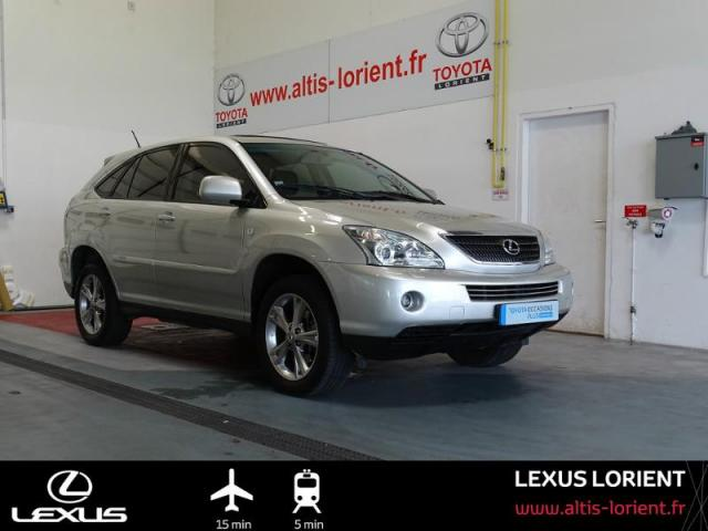 voiture occasion lexus rx 400h pack pr sident 2007 hybride 56600 lanester morbihan votreautofacile. Black Bedroom Furniture Sets. Home Design Ideas