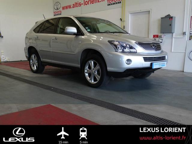 voiture occasion lexus rx 400h pack pr sident 2008 hybride 56600 lanester morbihan votreautofacile. Black Bedroom Furniture Sets. Home Design Ideas