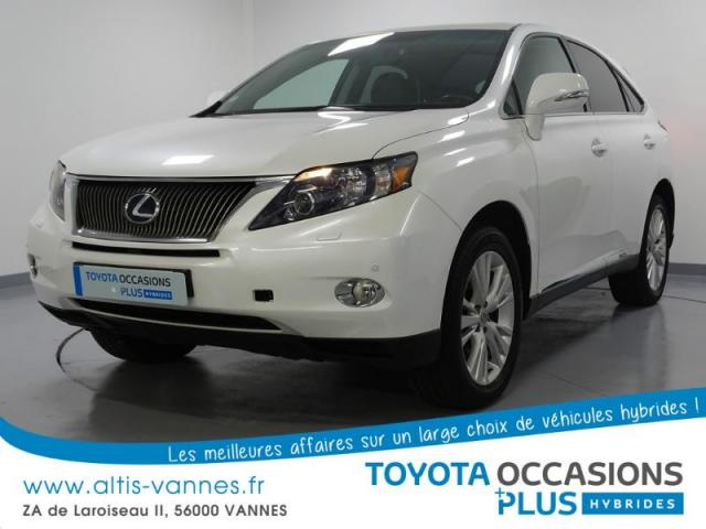 voiture occasion lexus rx 450h 2wd pack pr sident 2010 hybride 56000 vannes morbihan. Black Bedroom Furniture Sets. Home Design Ideas