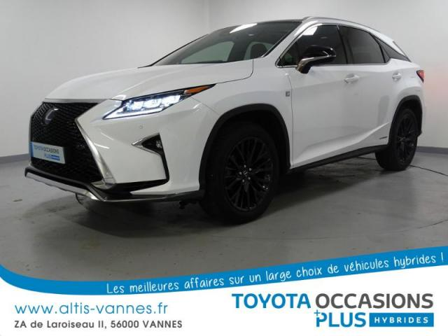 voiture occasion lexus rx 450h 4wd f sport executive 2016 hybride 56000 vannes morbihan. Black Bedroom Furniture Sets. Home Design Ideas