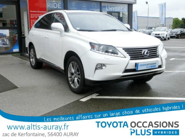 voiture occasion lexus rx 450h 4wd luxe 2013 hybride 56400 pluneret morbihan votreautofacile. Black Bedroom Furniture Sets. Home Design Ideas
