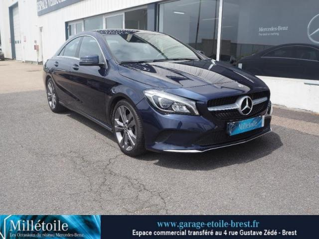 voiture occasion mercedes classe cla 200 d sensation 7g dct 2017 diesel 29200 brest finist re. Black Bedroom Furniture Sets. Home Design Ideas