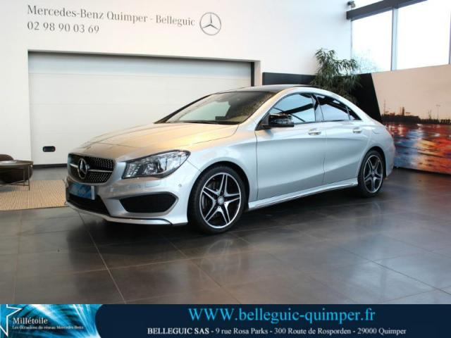 voiture occasion mercedes classe cla 220 cdi 177ch fascination 7g dct 2014 diesel 29000 quimper. Black Bedroom Furniture Sets. Home Design Ideas