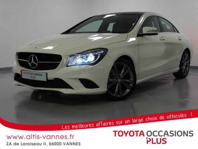 voiture occasion mercedes classe cla 220 cdi 177ch sensation 7g dct 2015 diesel 56000 vannes. Black Bedroom Furniture Sets. Home Design Ideas