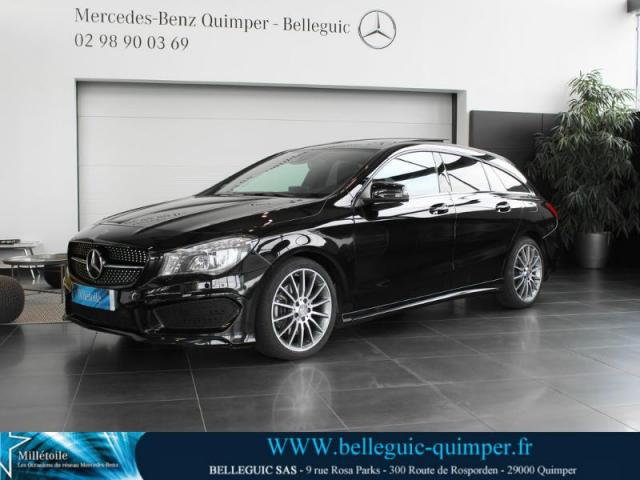 voiture occasion mercedes classe cla 220 cdi 177ch fascination 7g dct 2015 diesel 29000 quimper. Black Bedroom Furniture Sets. Home Design Ideas