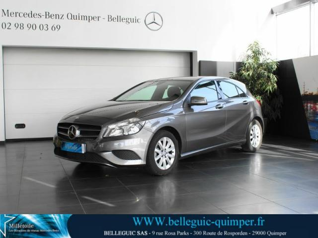 voiture occasion mercedes classe a 160 cdi intuition 2013 diesel 29000 quimper finist re. Black Bedroom Furniture Sets. Home Design Ideas
