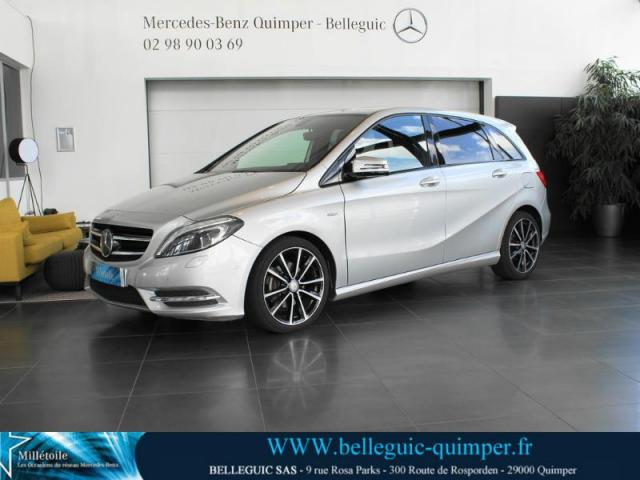 voiture occasion mercedes classe b 180 cdi sport 2012 diesel 29000 quimper finist re. Black Bedroom Furniture Sets. Home Design Ideas