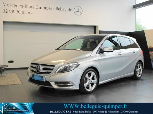voiture occasion mercedes classe b 180 cdi sport 2013 diesel 29000 quimper finist re. Black Bedroom Furniture Sets. Home Design Ideas
