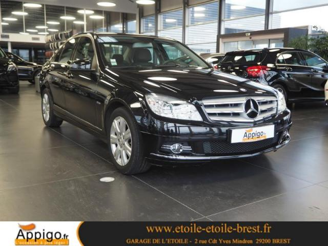 voiture occasion mercedes classe c 200 cdi be avantgarde 2009 diesel 29200 brest finist re. Black Bedroom Furniture Sets. Home Design Ideas