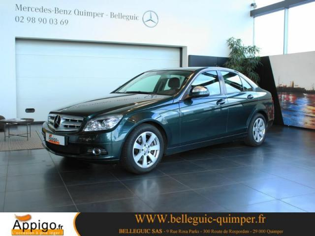 voiture occasion mercedes classe c 220 cdi classic 2008. Black Bedroom Furniture Sets. Home Design Ideas
