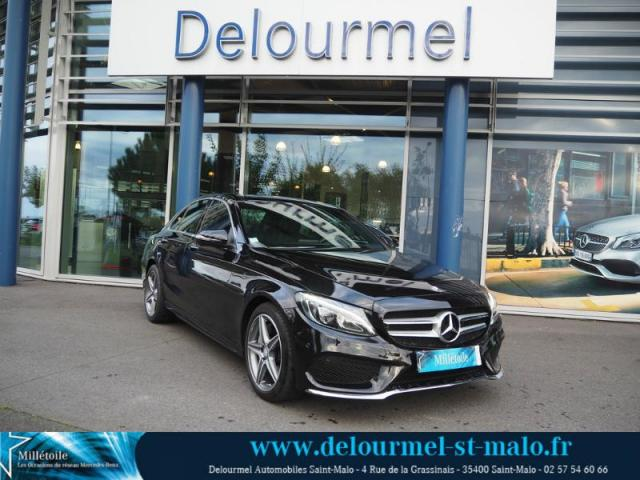 voiture occasion mercedes classe c 250 d sportline 4matic 9g tronic 2016 diesel 35400 saint malo. Black Bedroom Furniture Sets. Home Design Ideas