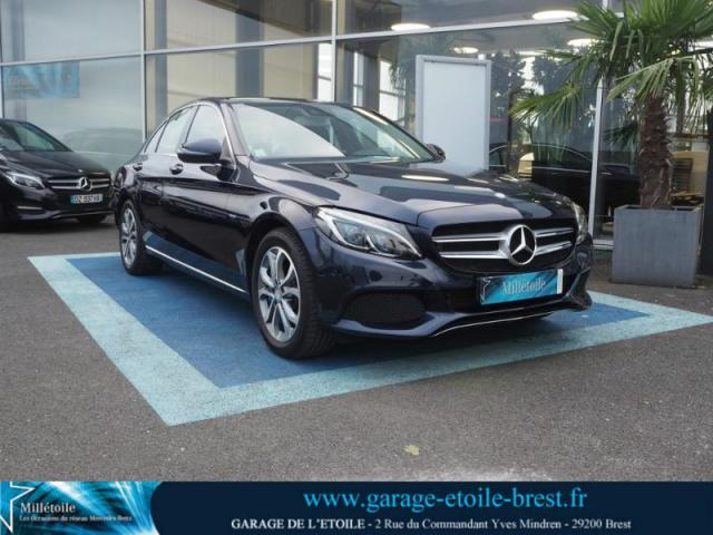 voiture occasion mercedes classe c 350 e executive 7g tronic plus 2017 hybride 29200 brest. Black Bedroom Furniture Sets. Home Design Ideas