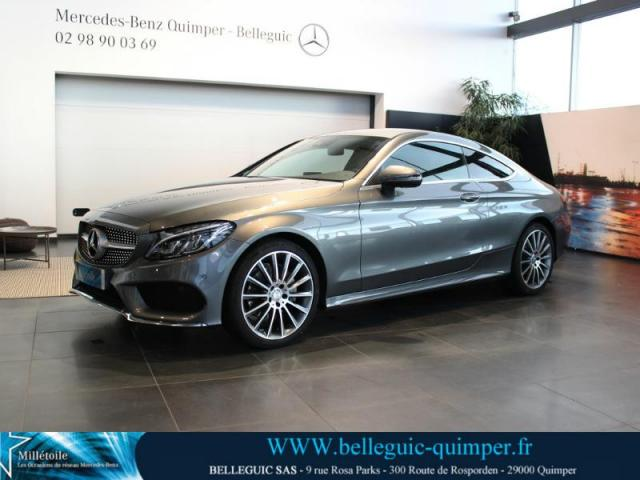 Voiture occasion mercedes classe c coup 220 d 170ch sportline 9g tronic 2016 diesel 29000 - Mercedes coupe e occasion ...