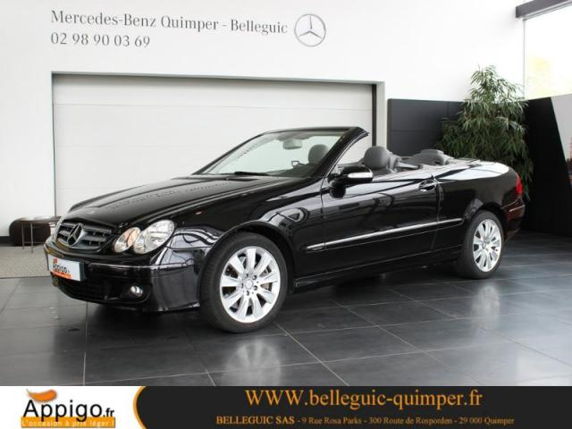 voiture occasion mercedes classe clk 320 cdi elegance 7gtro 2007 diesel 29000 quimper finist re. Black Bedroom Furniture Sets. Home Design Ideas