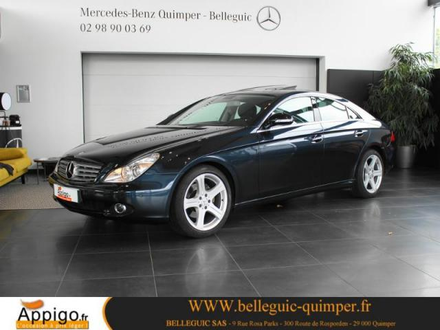 voiture occasion mercedes classe cls 320 cdi 2007 diesel 29000 quimper finist re votreautofacile. Black Bedroom Furniture Sets. Home Design Ideas