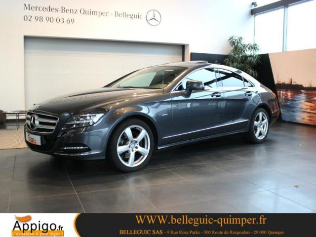 voiture occasion mercedes classe cls 350 cdi 2011 diesel 29000 quimper finist re votreautofacile. Black Bedroom Furniture Sets. Home Design Ideas