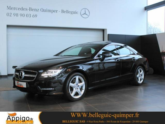 voiture occasion mercedes classe cls 350 cdi 2013 diesel 29000 quimper finist re votreautofacile. Black Bedroom Furniture Sets. Home Design Ideas