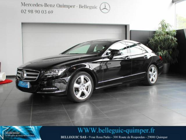 voiture occasion mercedes classe cls 350 cdi 2014 diesel 29000 quimper finist re votreautofacile. Black Bedroom Furniture Sets. Home Design Ideas