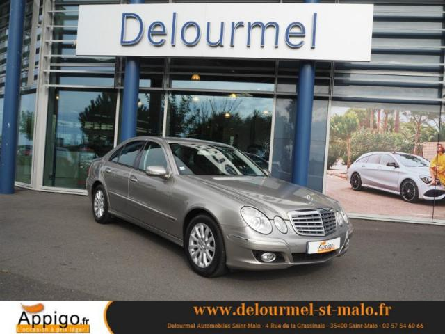 voiture occasion mercedes classe e 220 cdi elegance 2007 diesel 35400 saint malo ille et vilaine. Black Bedroom Furniture Sets. Home Design Ideas