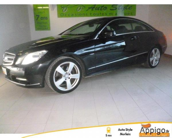 Voiture occasion mercedes classe e coup 350 cdi be executive 7gtro 2011 diesel 29600 saint - Mercedes classe e coupe 350 cdi ...