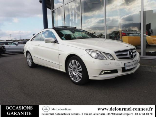 Voiture occasion mercedes classe e coup 350 cdi executive be ba 2010 diesel 35760 saint - Mercedes classe e coupe 350 cdi ...