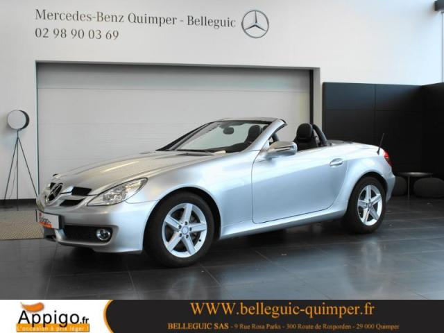 voiture occasion mercedes classe slk 200k 2010 essence. Black Bedroom Furniture Sets. Home Design Ideas