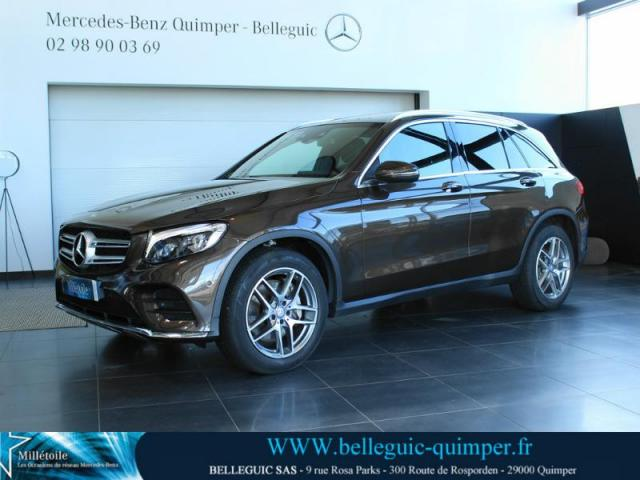 voiture occasion mercedes classe glc 220 d 170ch sportline 4matic 9g tronic 2015 diesel 29000. Black Bedroom Furniture Sets. Home Design Ideas