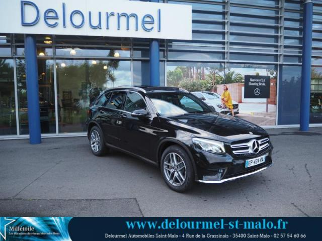 voiture occasion mercedes classe glc 250 d sportline 204ch 4matic 9g tronic 2017 diesel 35400. Black Bedroom Furniture Sets. Home Design Ideas