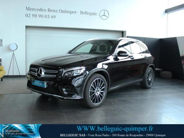 voiture occasion mercedes classe glc 350 d 258ch fascination 4matic 9g tronic 2018 diesel 29000. Black Bedroom Furniture Sets. Home Design Ideas