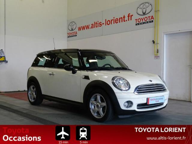 voiture occasion mini clubman cooper 120ch 2007 essence 56600 lanester morbihan votreautofacile. Black Bedroom Furniture Sets. Home Design Ideas