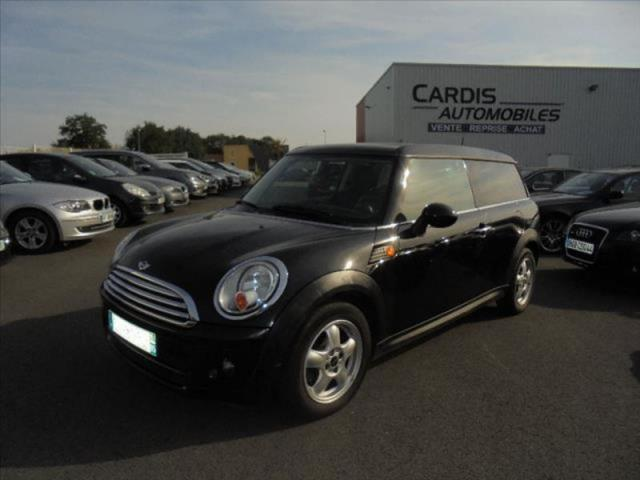 Voiture Occasion Mini Clubman Cooper D 110ch Pack Chili 2010 Diesel