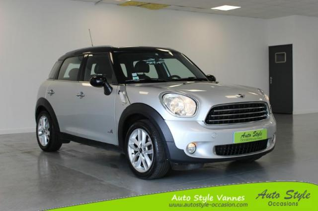 voiture occasion mini countryman cooper d 112ch all4 bva 2012 diesel 56450 theix morbihan. Black Bedroom Furniture Sets. Home Design Ideas