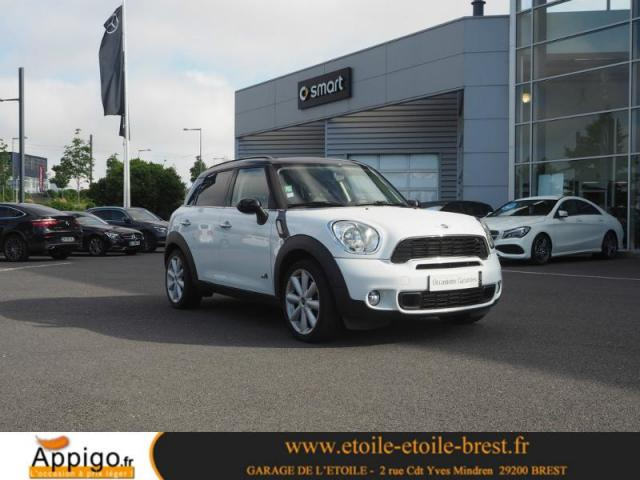 voiture occasion mini countryman cooper s 184ch all4 bva. Black Bedroom Furniture Sets. Home Design Ideas