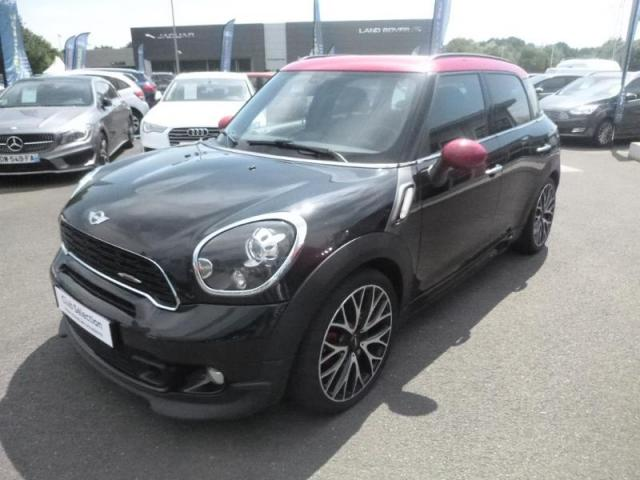 voiture occasion mini countryman john cooper works 218ch all4 bva 2013 essence 44800 saint. Black Bedroom Furniture Sets. Home Design Ideas