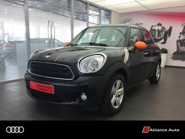 Voiture occasion mini countryman one d 90ch bricklane 2015 for Garage peugeot lannion 22300
