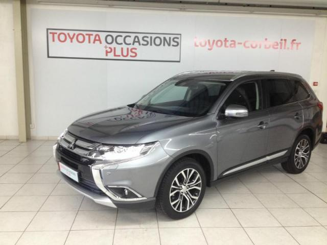 voiture occasion mitsubishi outlander 2 2 di d 150ch instyle 4wd bva 7 places 2017 diesel 91100. Black Bedroom Furniture Sets. Home Design Ideas