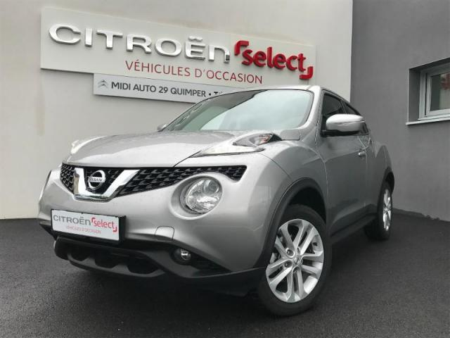 voiture occasion nissan juke 1 2 dig t 115ch acenta 2016. Black Bedroom Furniture Sets. Home Design Ideas