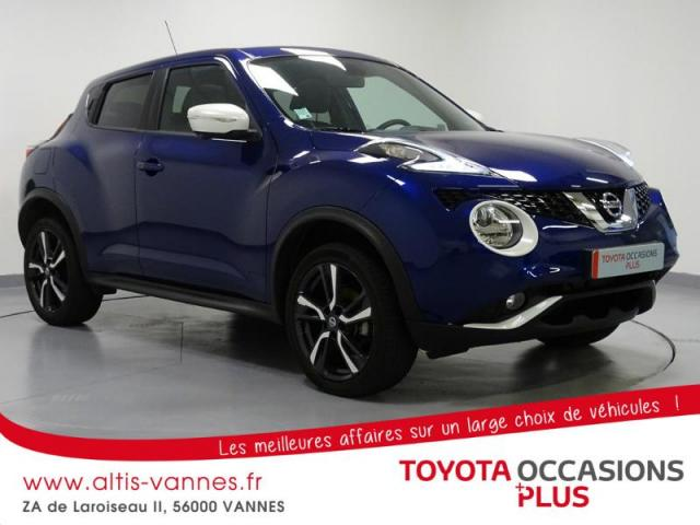 voiture occasion nissan juke 1 2 dig t 115ch tekna 2016 essence 56000 vannes morbihan. Black Bedroom Furniture Sets. Home Design Ideas