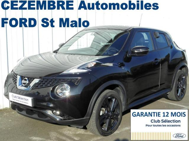 voiture occasion nissan juke 1 6 ess 117ch white edition bva 2017 essence 35400 saint malo ille. Black Bedroom Furniture Sets. Home Design Ideas