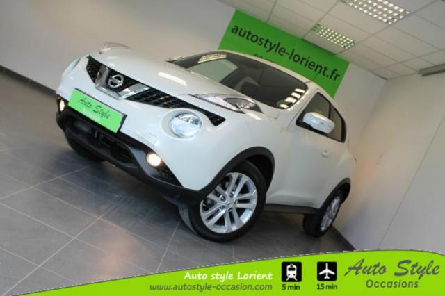 voiture occasion nissan juke 1 6l 117ch n connecta xtronic 2016 essence 56600 lanester morbihan. Black Bedroom Furniture Sets. Home Design Ideas