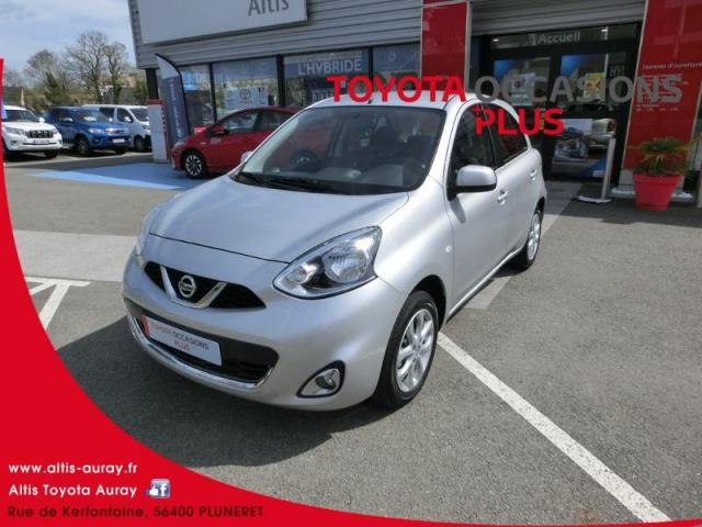 voiture occasion nissan micra 1 2 80ch acenta euro6 2017 essence 56400 pluneret morbihan. Black Bedroom Furniture Sets. Home Design Ideas