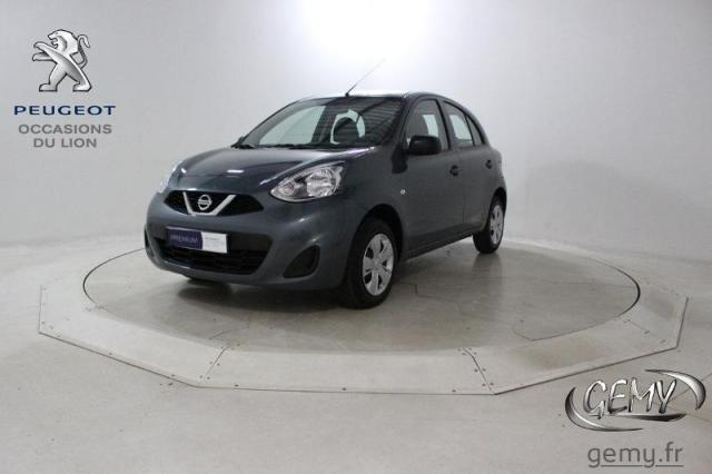 voiture occasion nissan micra 1 2 80ch visia pack 2016 essence 44110 ch teaubriant loire. Black Bedroom Furniture Sets. Home Design Ideas
