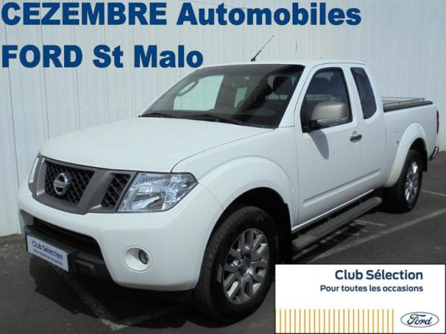 voiture occasion nissan navara 2 5 dci 190ch king cab connect edition 4x4 2015 diesel 35400. Black Bedroom Furniture Sets. Home Design Ideas