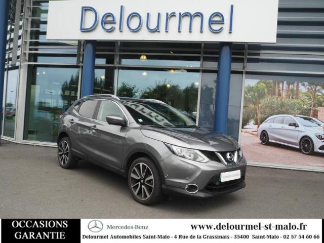 voiture occasion nissan qashqai 1 2l dig t 115ch tekna xtronic euro6 2016 essence 35400 saint. Black Bedroom Furniture Sets. Home Design Ideas