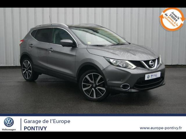 voiture occasion nissan qashqai 1 5 dci 110ch tekna 2016 diesel 56300 pontivy morbihan. Black Bedroom Furniture Sets. Home Design Ideas
