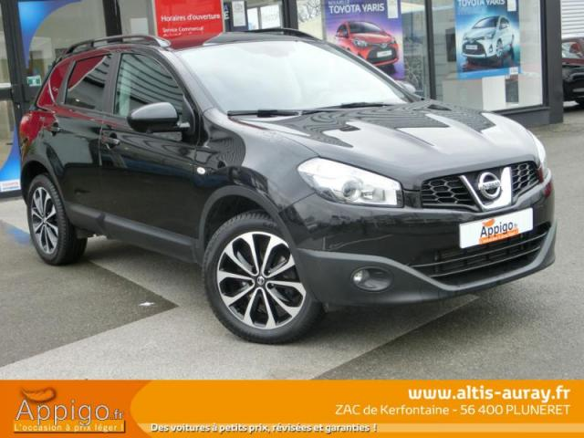 voiture occasion nissan qashqai 1 6 dci 130ch connect edition 2014 diesel 56400 pluneret. Black Bedroom Furniture Sets. Home Design Ideas