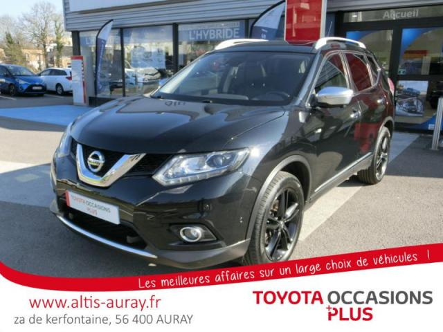 voiture occasion nissan x trail 1 6 dci 130ch black edition all mode 4x4 i euro6 7 places 2015. Black Bedroom Furniture Sets. Home Design Ideas