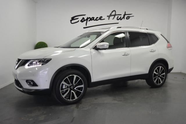 voiture occasion nissan x trail 1 6 dci 130ch tekna euro6 7 places 2016 diesel 29000 quimper. Black Bedroom Furniture Sets. Home Design Ideas