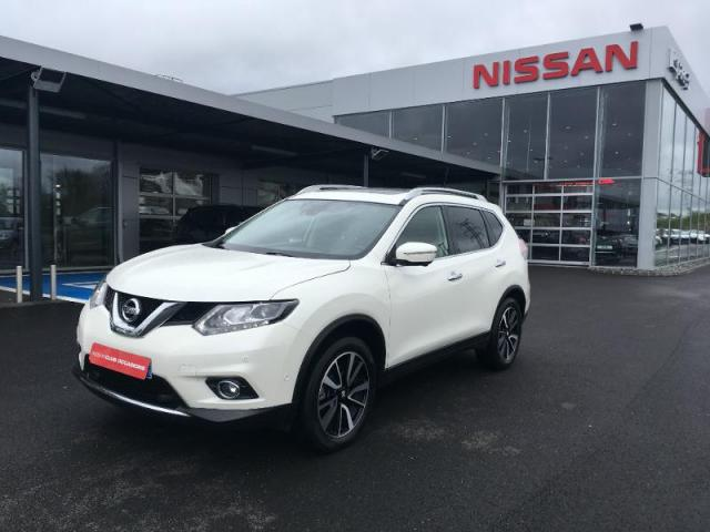 voiture occasion nissan x trail 1 6 dci 130ch tekna euro6 7 places 2016 diesel 35510 cesson. Black Bedroom Furniture Sets. Home Design Ideas