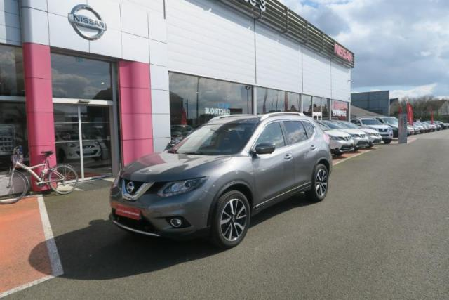 voiture occasion nissan x trail 1 6 dci 130ch tekna xtronic euro6 7 places 2015 diesel 35510. Black Bedroom Furniture Sets. Home Design Ideas
